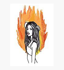 FIRE GIRLS Photographic Print