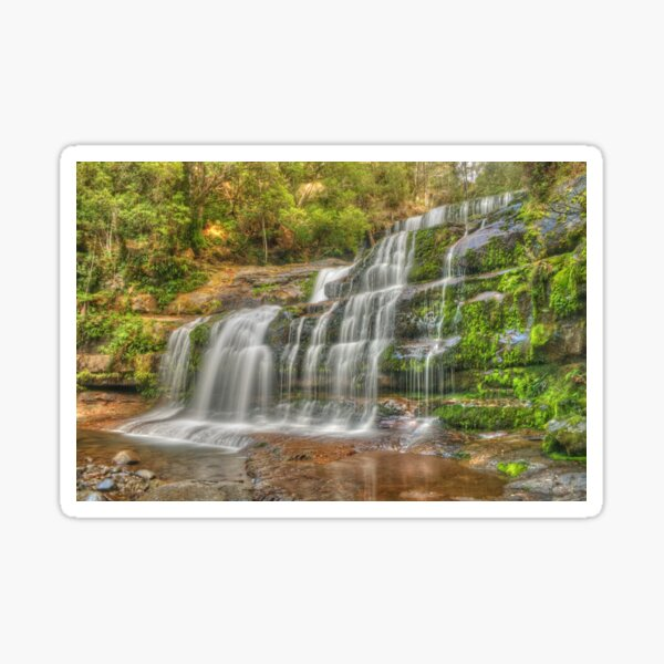 Liffey Falls .. a different angle Sticker