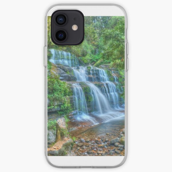 Liffey Falls .. side portrait iPhone Soft Case