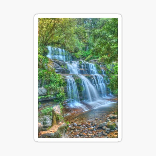 Liffey Falls .. side portrait Sticker