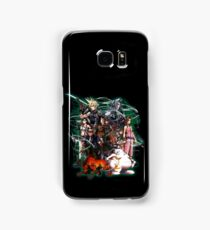 Final Fantasy VII - Collage Samsung Galaxy Case/Skin