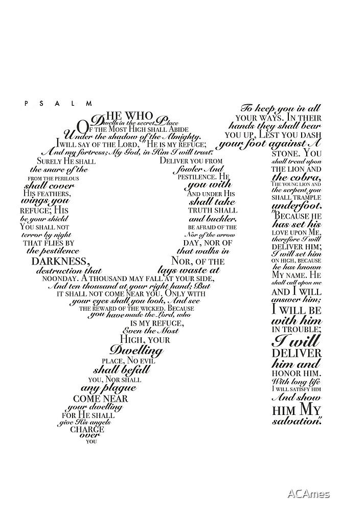 Psalm 91 White