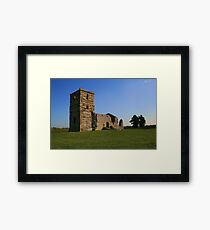 Knowlton Church Framed Print
