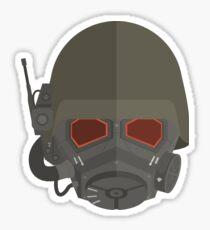 NCR Veteran ranger Helmet Sticker