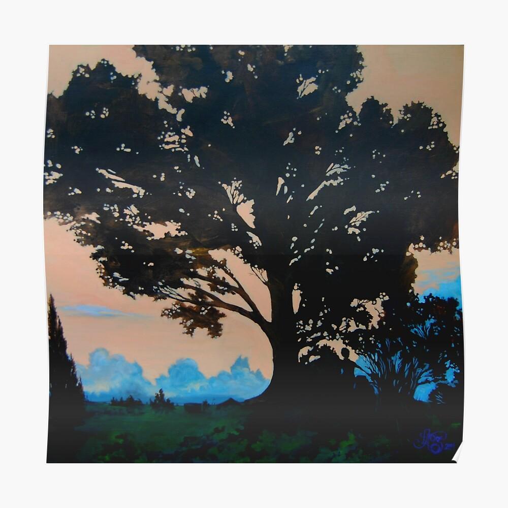Oak Tree at Turner Chapel, Marietta, GA Poster