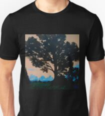 Oak Tree at Turner Chapel, Marietta, GA Slim Fit T-Shirt