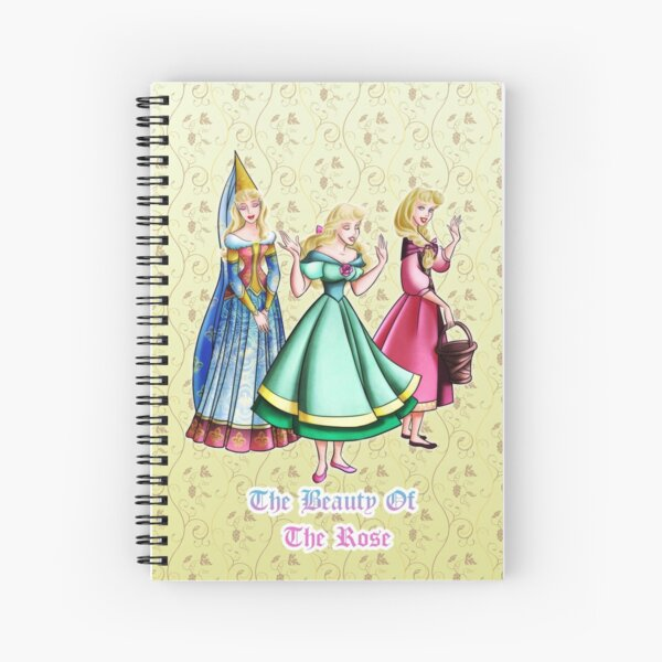 The beauty of the rose Spiral Notebook