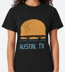 Austin Texas Bat Bridge  Classic T-Shirt