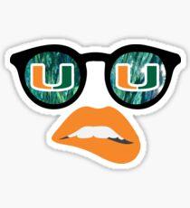 University of Miami - Style 2 Sticker