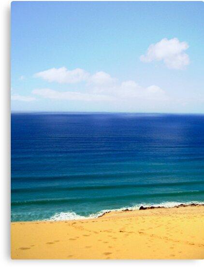 Rainbow beach by Angiefire