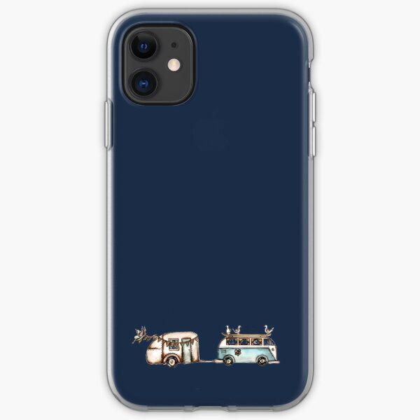 Let the waves take you on a journey iPhone Soft Case