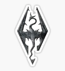 Skyrim Dragon Sticker