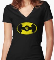 The Darth Knight Women's Fitted V-Neck T-Shirt