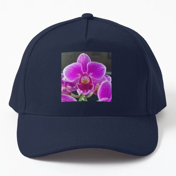 Purple Orchid By Yannis Lobaina Baseball Cap
