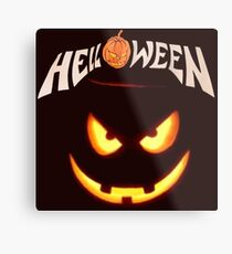 Merchandise_Helloween Metal Print