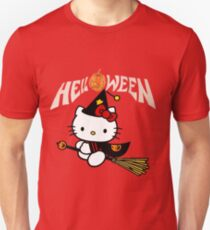 Kitty_Helloween Unisex T-Shirt