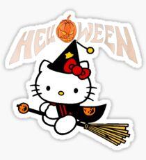Kitty_Helloween Sticker