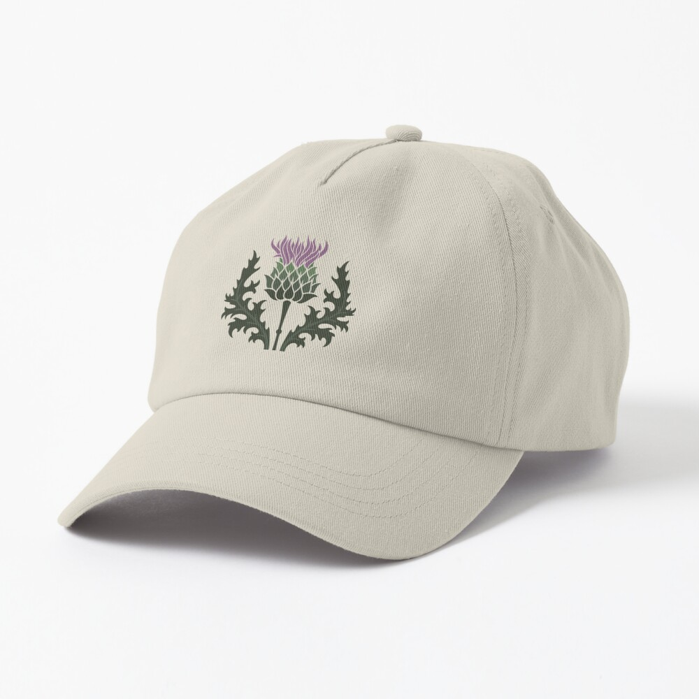 Scottish Thistle Flower of Scotland Cap