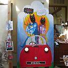 Art display by evon ski