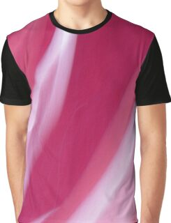Raspberry Cream Swirl Graphic T-Shirt