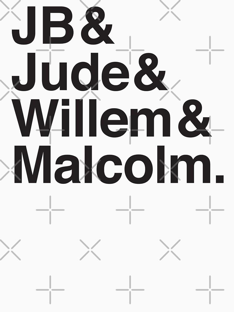 JB & Jude & Willem & Malcolm  by jazzydevil