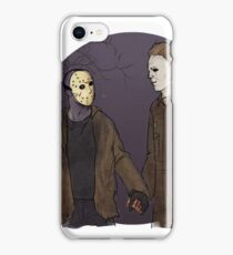 Jason and Michael iPhone Case/Skin