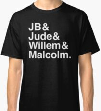 A LITTLE LIFE book JB & Jude & Willem & Malcolm (in white) Classic T-Shirt