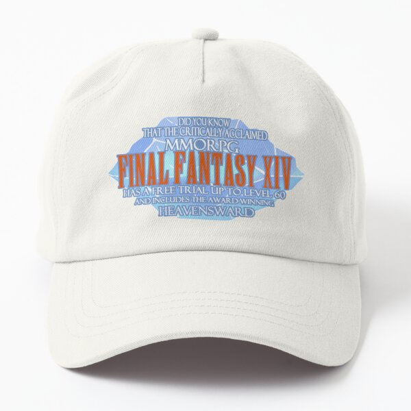Critically Acclaimed MMO Final Fantasy   Dad Hat
