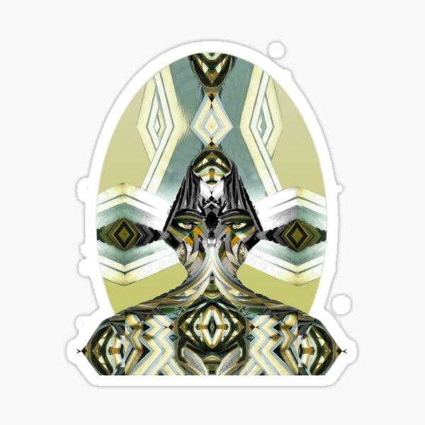 Agave deity Sticker