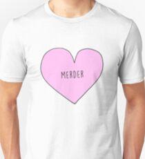 MEREDITH AND DEREK (MERDER) CANDY HEART Unisex T-Shirt