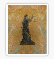 Lady Justice 27M Sticker