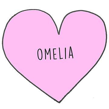 OWEN AND AMELIA (OMELIA) CANDY HEART by sarahsdrew
