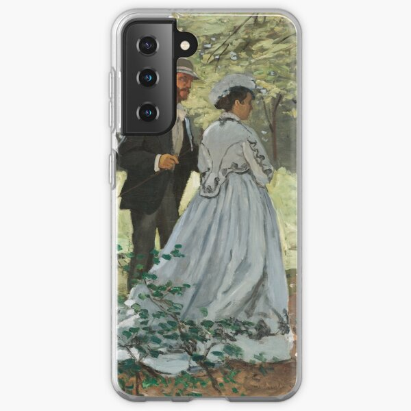 Bazille and Camille by Claude Monet Samsung Galaxy Soft Case