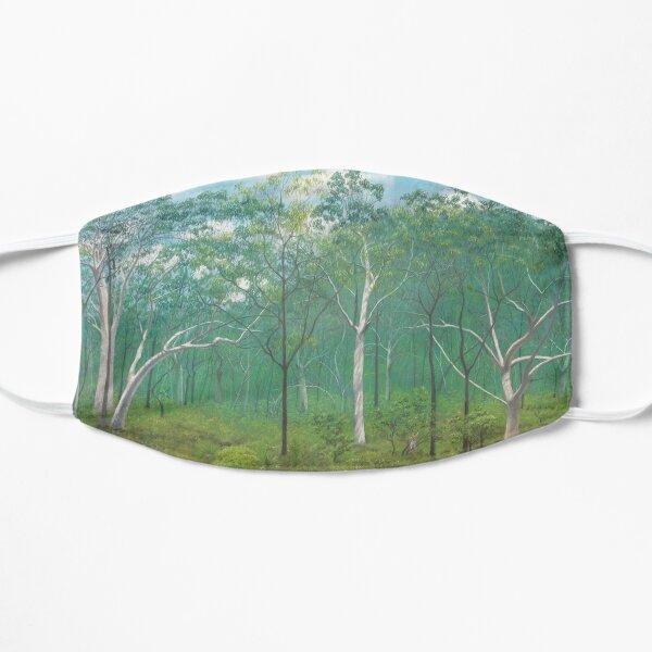 Scribbly Gum Woodland - Raising funds for Bush Heritage Australia Flat Mask
