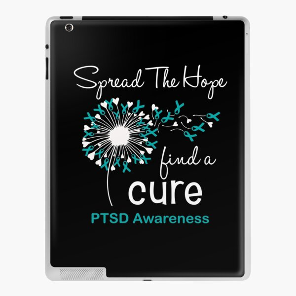 Spread The Hope Find A Cure PTSD Awareness iPad Skin