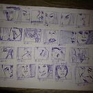Close Up Storyboard by Ashoka Chowta