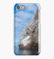 Cliff Rock - Off San Cristobal Island, Galapagos iPhone Case/Skin