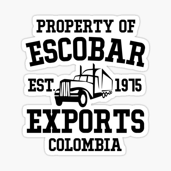 Narcos - Pablo Escobar Sticker