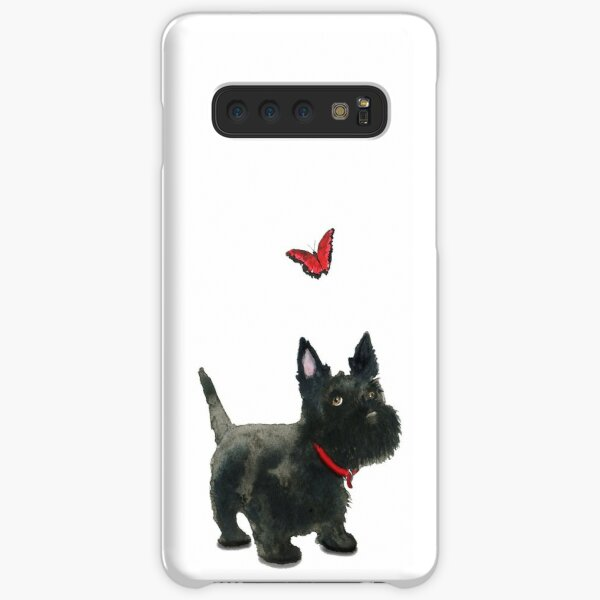 Scottie Dog and Butterfly Samsung Galaxy Snap Case