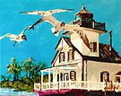 Fly By the Roanoke River Light by Jim Phillips