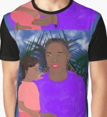 Mother and Daughter Graphic T-Shirt