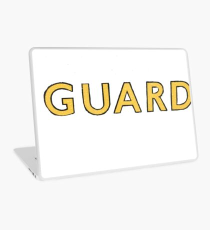 The Guard  Laptop Skin
