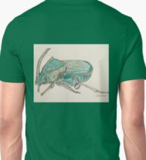 Rainbow Scarab Beetle in colour by Liz H Lovell T-Shirt