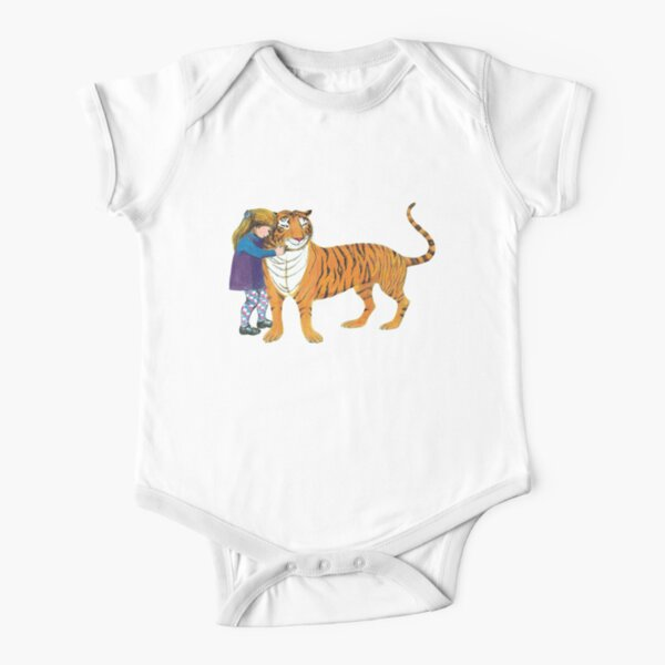 The Tiger Who Came to Tea Short Sleeve Baby One-Piece