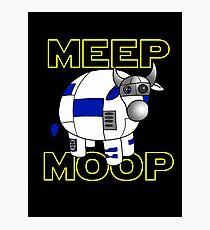 Meep Moop v2 Photographic Print