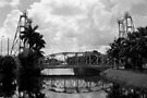 Lift Bridge over the Miami Canal by Bill Wetmore