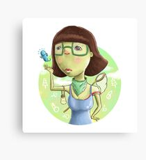 cute women Canvas Print