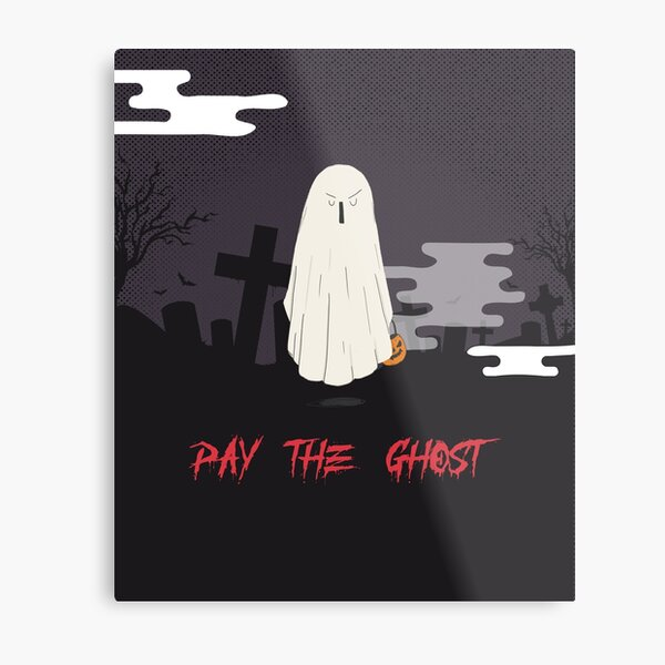 Ghostly Goings On At The Graveyard Metal Print