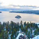 Emerald Bay, Lake Tahoe by David Galson