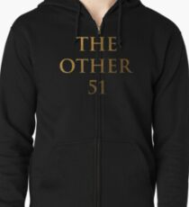 Hamilton - The other 51 (Inverted) Zipped Hoodie